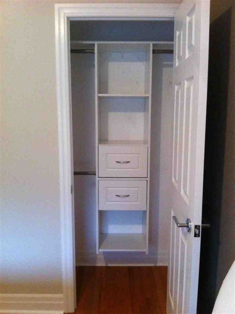 small closet shelves decor ideas