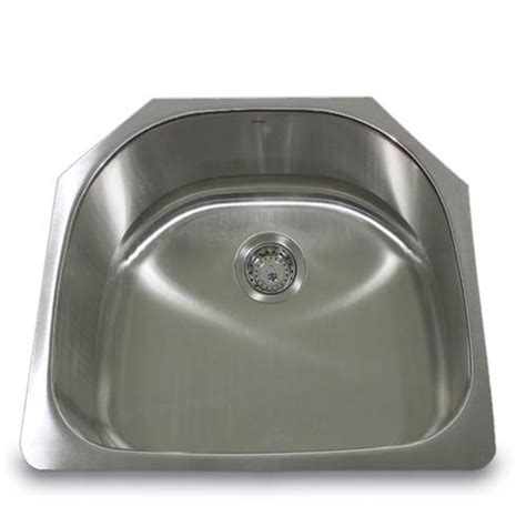 kitchen sink shapes 304 16 stainless steel d shape 24 inch undermount 2876