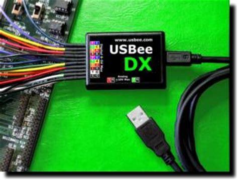 usbee dx mixed signal oscilloscope logic analyzer signal