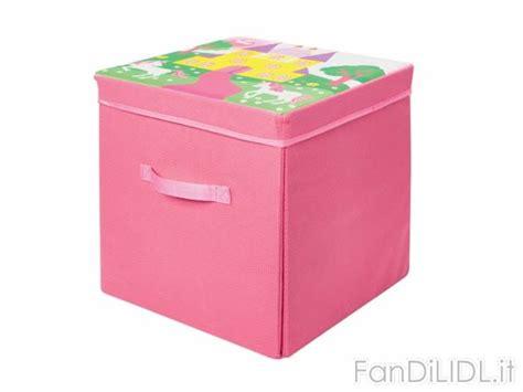 Tappeto Box by Tappeto E Box Portaoggetti Per Bambini Fan Di Lidl