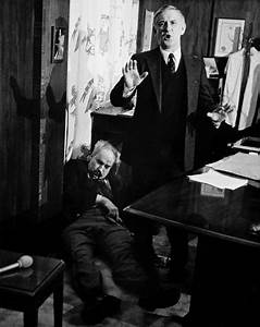 Pennsylvania State Treasurer R  Budd Dwyer Shortly After Committing Suicide In Front Of