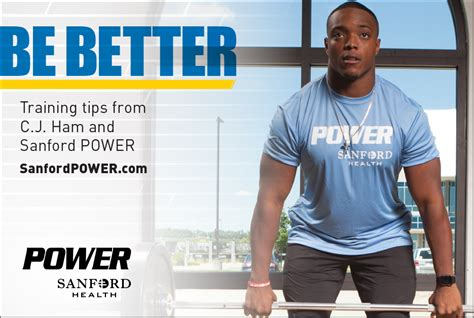 Be Better Training Tips From Cj Ham And Sanford Power