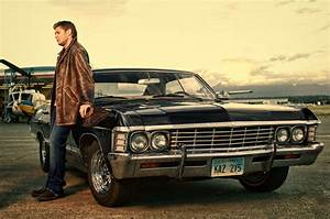 Dean Winchester with Chevrolet Impala 1967 - Supernatural ...