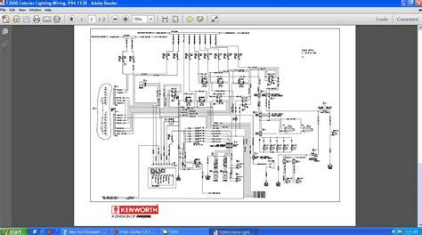 wiring diagram kenworth wiring diagram pdf paccar