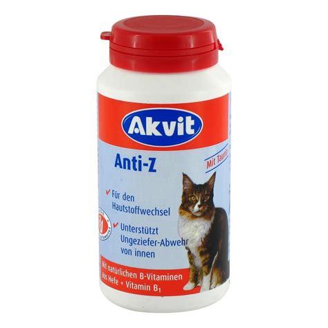 erfahrungen zu akvit anti zecken tabletten fkatzen