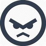 Angry Face Icon Avatar Bad Emoji Expression