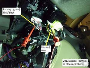 2012 Hyundai Accent Remote Start Pictorial