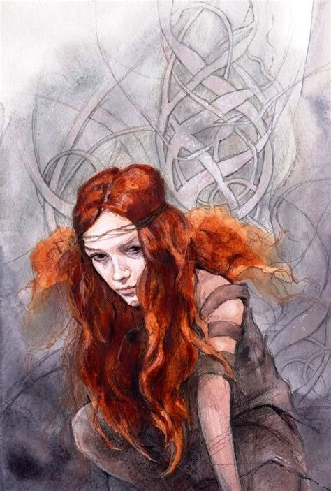Celtic Woman. this is by Julia Jeffries, I think   Art ...