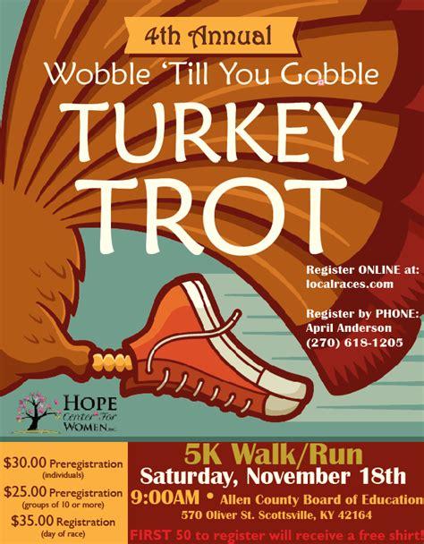 turkey running in a turkey trot template 5k walk run flyers dolap magnetband co