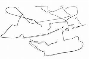 1994-2004 Mustang Brake Lines