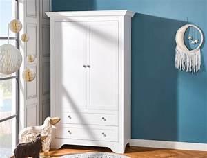 Armoire Bebe Blanche : armoire b b et enfant occitane blanc chambrekids ~ Melissatoandfro.com Idées de Décoration