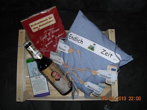 originelle geschenkideen zum ruhestand rentengeschenk craft creativity geschenk rente geschenk ruhestand rentner geschenk