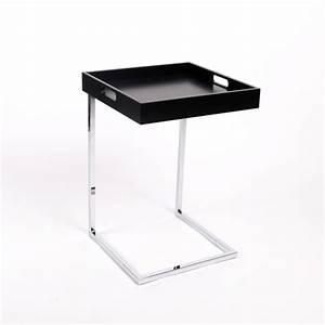 Tablett Tisch Schwarz : tablett tisch schwarz beistelltisch modern farbe schwarz ~ Whattoseeinmadrid.com Haus und Dekorationen