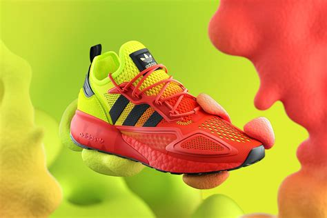 adidas Originals Drops an Eye-Popping Colorway of the ZX ...