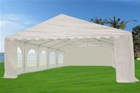 heavy duty white party tent