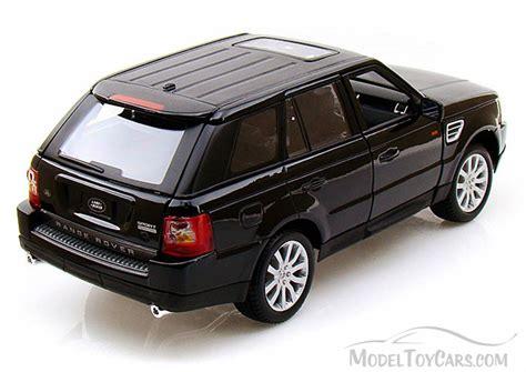 toy range rover range rover sport suv black bburago 12069 1 18 scale