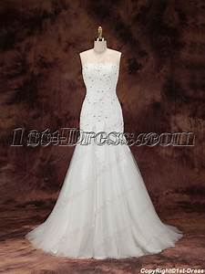 2016 sheath lace bridal gown with train1st dresscom With lace wedding dress with train