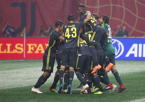 MLS All-Stars vs. Juventus - 2 August 2018 - Soccerway