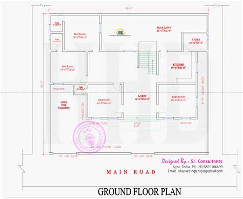 ground floor plan ground floor house design indian home design ground