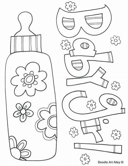 Coloring Pages Shower Printable Printables Jesus Its