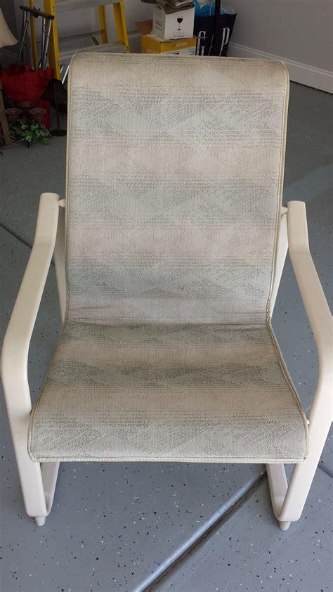 patio furniture repair samsonite patio furniture replacement slings