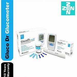 Gluco Dr Blood Glucose Monitoring System Agm