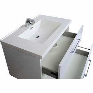 Buy 335 inch wall mount contemporary bathroom vanity set for How high should a bathroom vanity be
