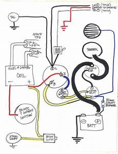 1977 Sportster Chopper Wiring Diagram  Use At Your Own