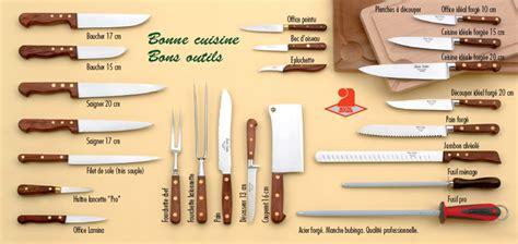 coutellerie professionnelle cuisine bonne cuisine bons outils coutelier charles couttier