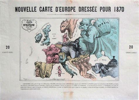 bringing  map  life european satirical maps