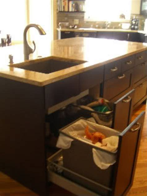 under sink waste disposal drawers under sink