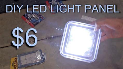 diy led light panel  youtube