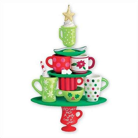 coffee cup christmas tree ornaments christmas ornament shop