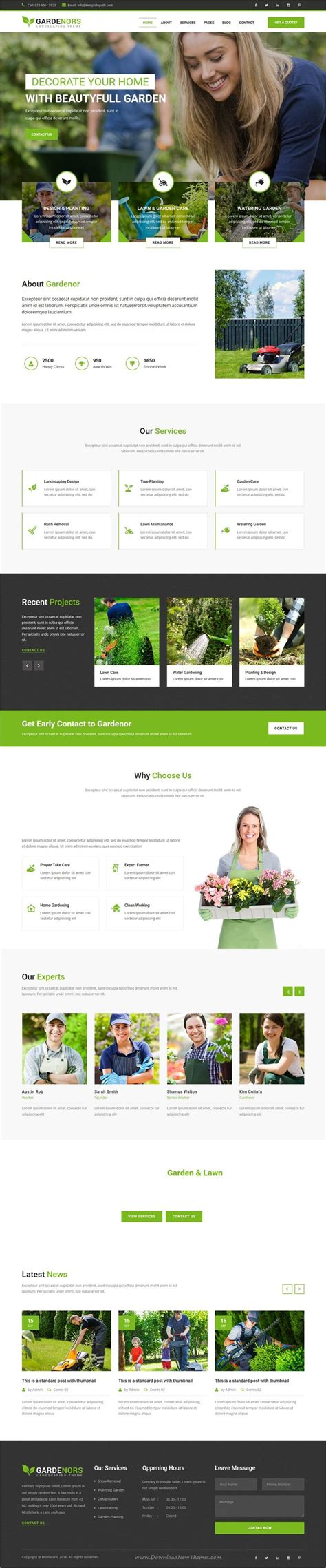 bootstrap template gardening 17 best ideas about landscape companies on pinterest