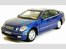 Blue Cararama 143 Scale Diecast Lexus GS300 Model