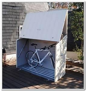 Clever Outdoor Bike Storage