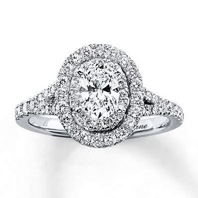 1ct tw diamond engagement ring set bridal sets neil lane engagement ring 1 ct tw diamonds 14k white gold