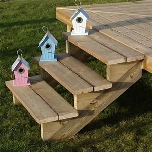 Bois Autoclave Classe 4 : limon 7 marches pour escalier de jardin en bois autoclave ~ Premium-room.com Idées de Décoration