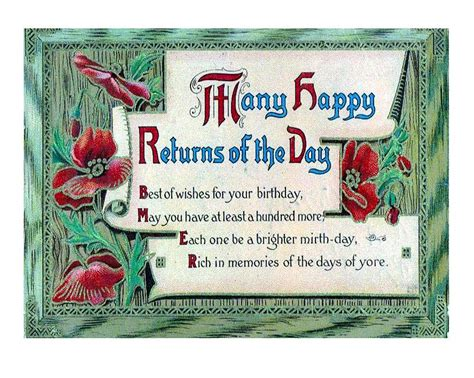 Many Happy Returns by Many Happy Returns Of The Day Painting By Olde Time Mercantile