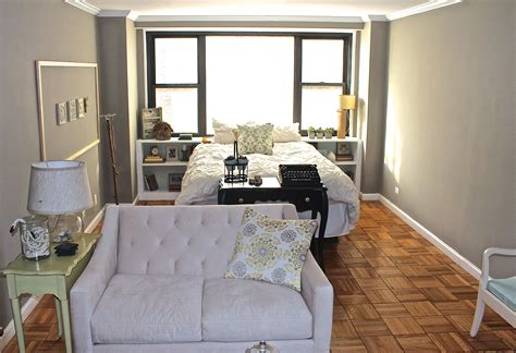 Sofa For Studio Apartment by Small Apartment Sofas Nyc Studio Living To Divide Or Not
