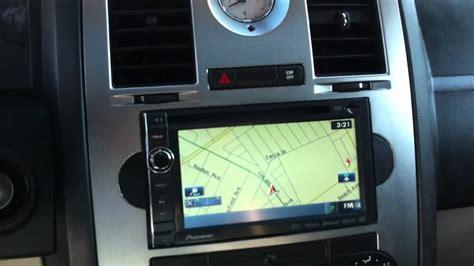 Chrysler 300 Stereo Upgrade by 2006 Chrysler 300c Srt8 Pioneer Avic X930bt Navigation
