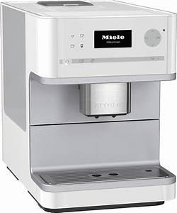 Miele kaffeevollautomat cm 6100 lotosweiss vs elektro for Miele kaffeevollautomat