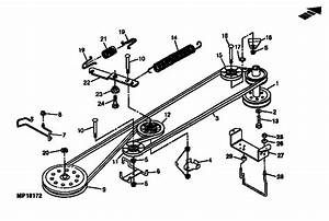 Belt Drive And Idlers Diagram  U0026 Parts List For Model