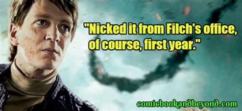70 Fred Weasley Quotes From Harry Potter Movie Comic Books And Beyond