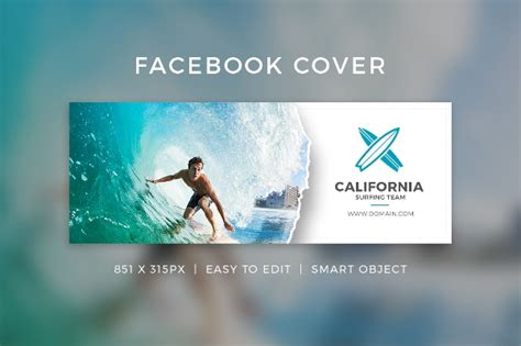 facebook cover template   word  psd documents