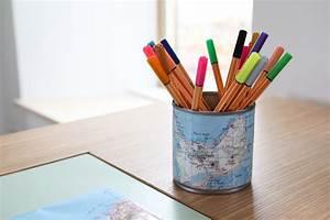 Pot A Crayon : diy un pot crayon carte de bretagne merci pour le chocolat ~ Teatrodelosmanantiales.com Idées de Décoration