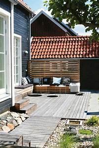 Terrasse Avec Palette : am nagement de terrasse avec des palettes en bois de r cup ~ Melissatoandfro.com Idées de Décoration