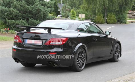 lexus convertible 2014 2014 lexus is f convertible spy shots