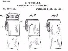 Patent Toilet Paper Roll
