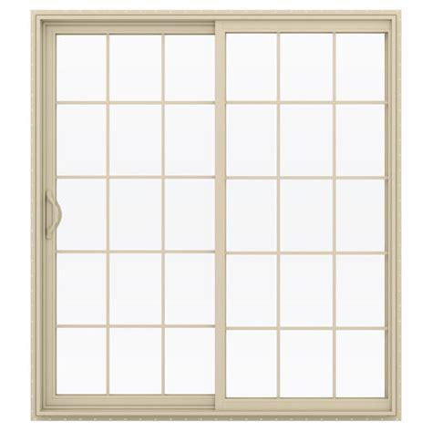 menards vinyl patio doors jeld wen builders series 15 lite left vinyl sliding